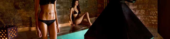 Thermal Bath with Aromatherapy and Relaxing 45 minutes Massage :: © Aire Ancient Baths New York